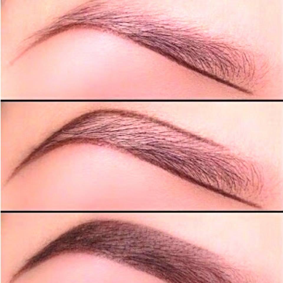 Как правильно красить брови карандашом пошагово с фото